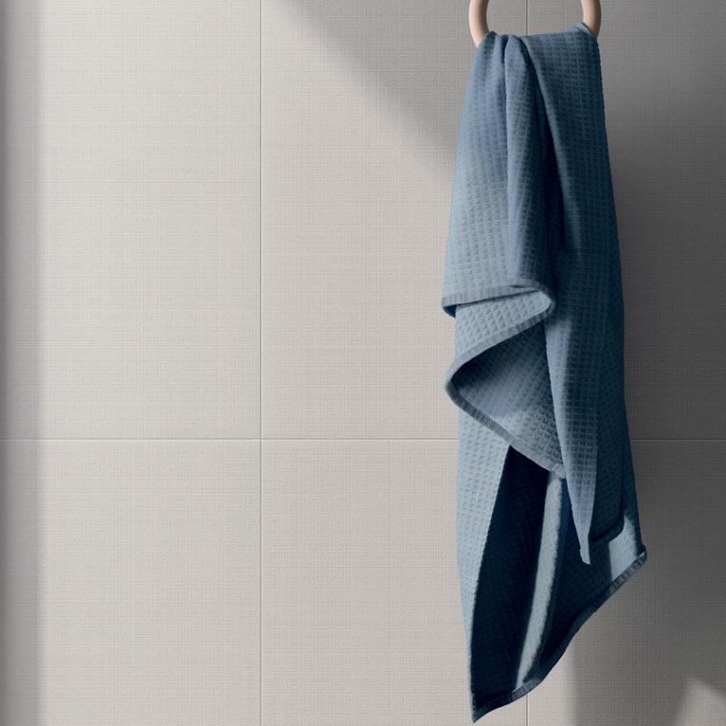 Lapicida Bathroom Wainscot Silver Plain