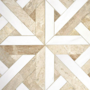 Lapicida_Crossover-Mosaic Beige Marble