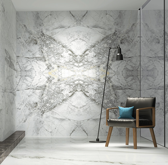 Lapicida-Lifestyle_4D-White-Hexagon-Textured_Tile
