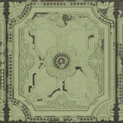 Lapicida_Tin-Panel_Green