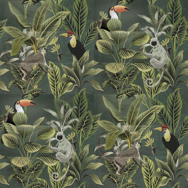 Lapicida_Toucan-Green-Decor_40X120-Ceramic_Decorative