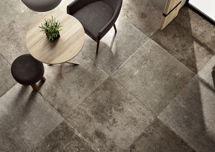 lapicida_highland-storm_porcelain tile kitchen