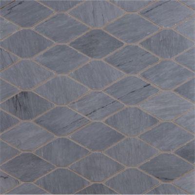 Lapicida Italian Bardiglio_longhexagon_mosaic_Marble