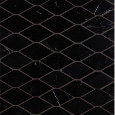 Lapicida Italian Botticino Hexagon Mosaic Marble