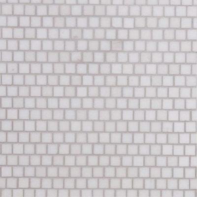 Lapicida Italian Thassos Offset Mosaic Small