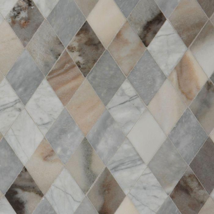 lapicida_argyle_mosaic beige marble