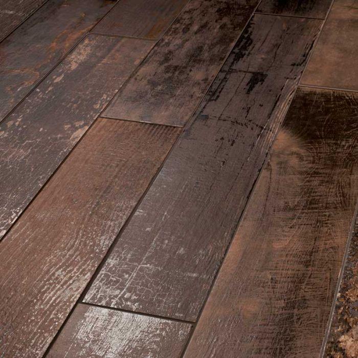 Lapicida Ignis Rose Wood Effect Porcelain Tile