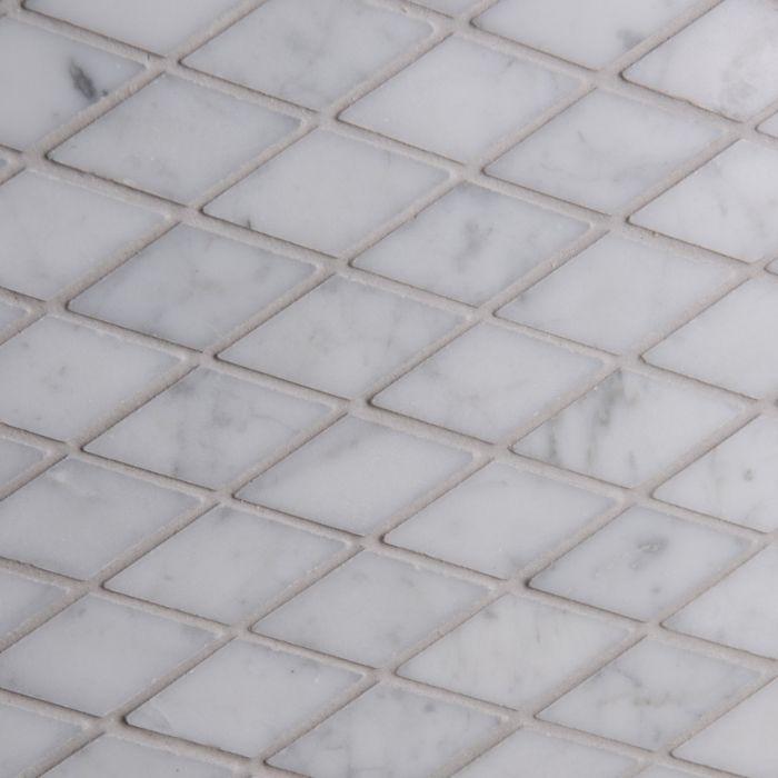 Italian Calacatta Oro Diamond Mosaic Small Marble
