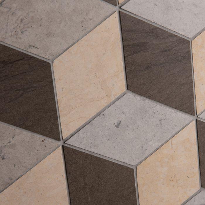 Lapicida Italian Geometric Adams Mosaic Large