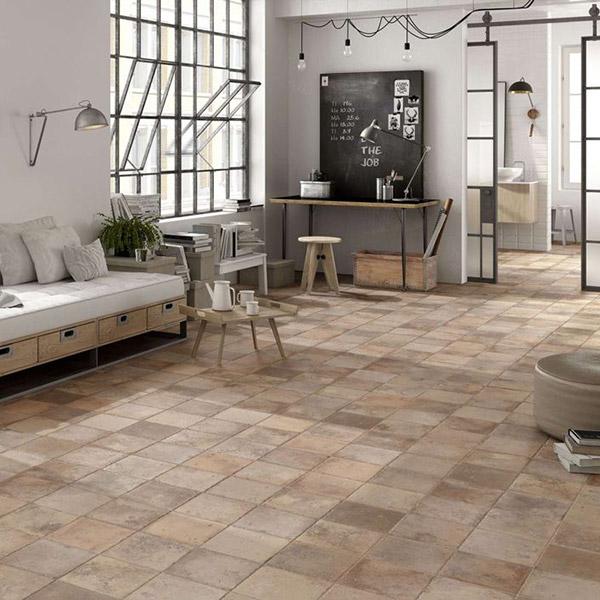 Lapicida Livingroom - Alora Terracotta Porcelain Tile