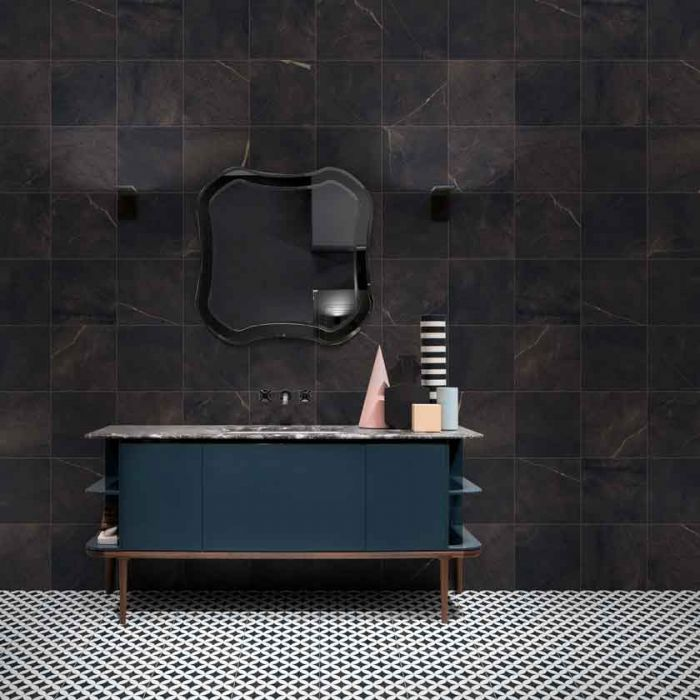 lapicida_haute_night_porcelain tile bathroom