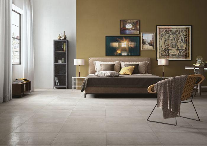 Lapicida Loft Shade Porcelain Tile - Bedroom