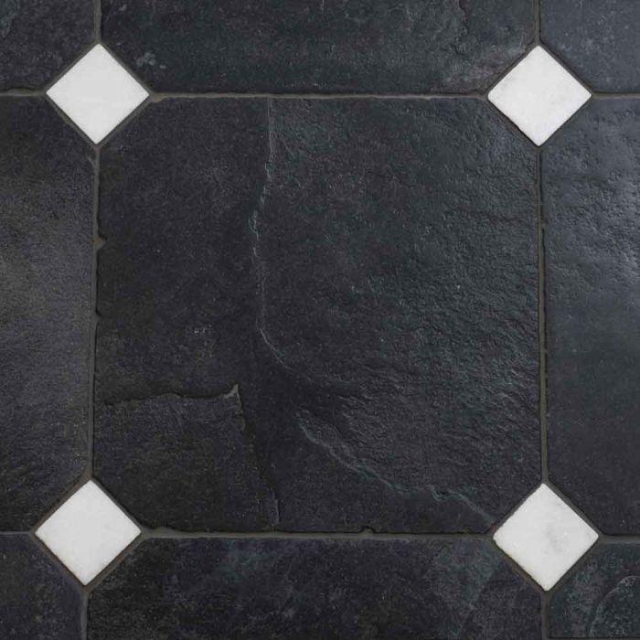 Nero Antica Octagon Limestone