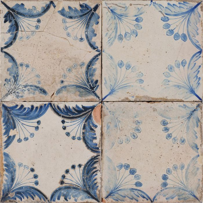Lapicida Old Faro Patterned Ceramic