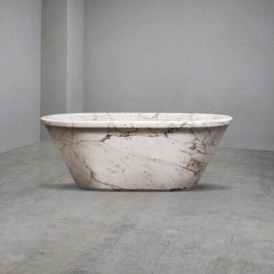Lapicida_SanMarino_Marble_RollTop_Bath